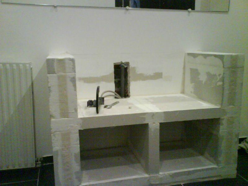 Fabriquer Un Meuble De Salle De Bain En Siporex Bright Shadow Online