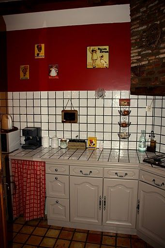 meuble rideau cuisine