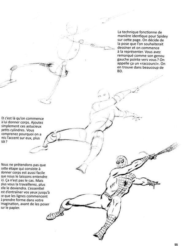 comment dessiner les comics: la méthode marvel (akiléos