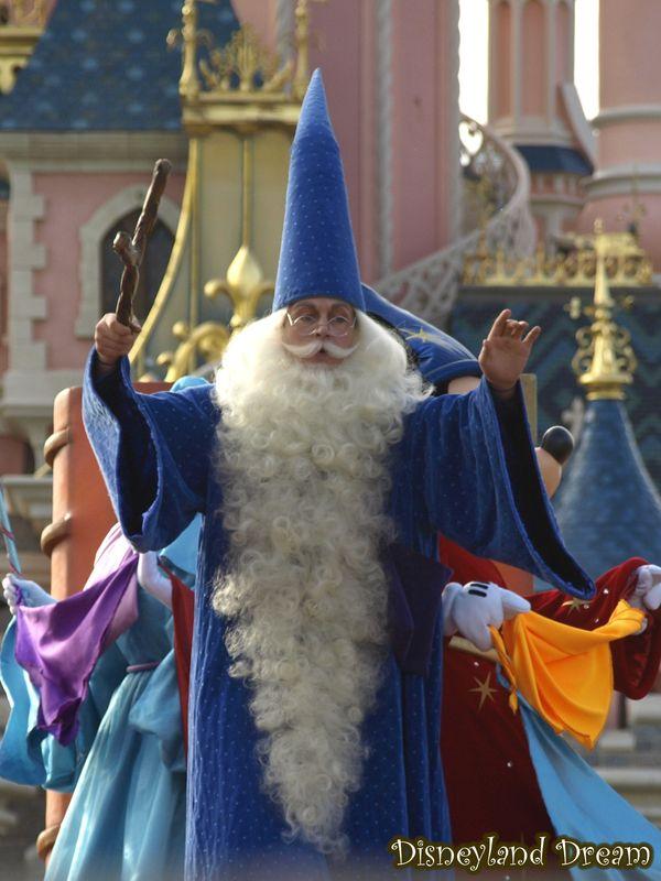 Merlin L Enchanteur Disneyland Dream