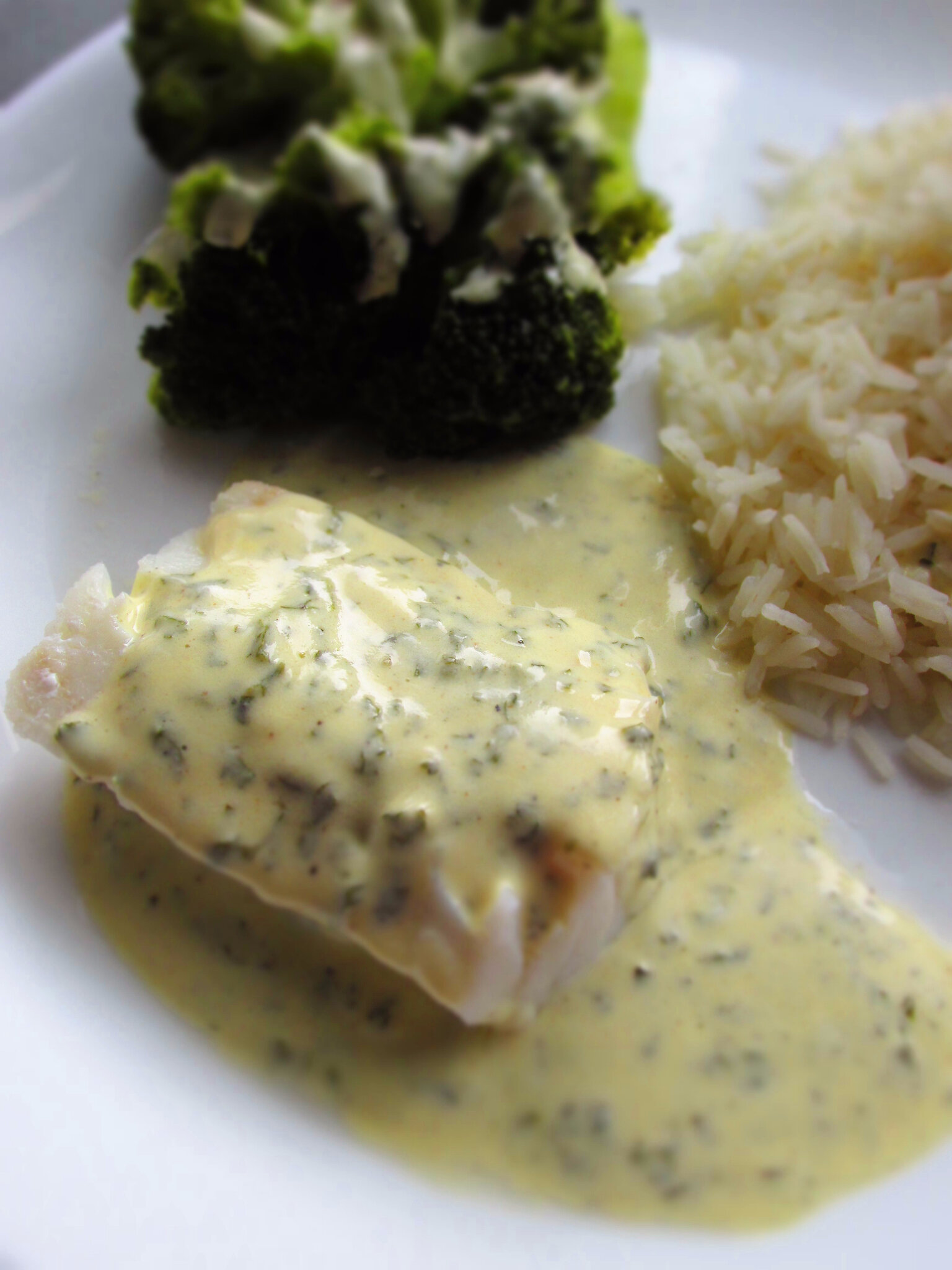 Sauce Pour Accompagner Le Riz : sauce, accompagner, Sauce, Citron, Herbes, Accompagner, Poisson..., Chat-Touille