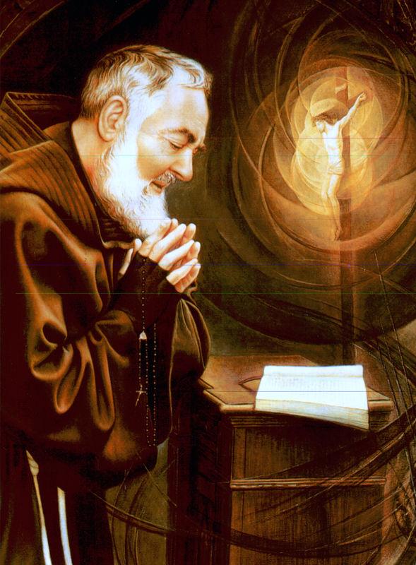 Padre Pio Priere De Protection : padre, priere, protection, Neuvaine, Saint, Padre, Images, Saintes