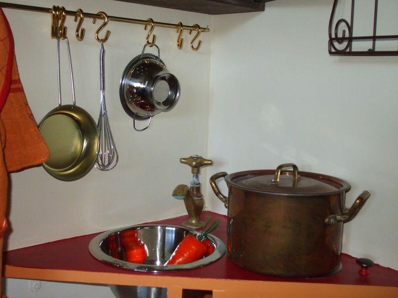 Robinet Cuisine Cuivre