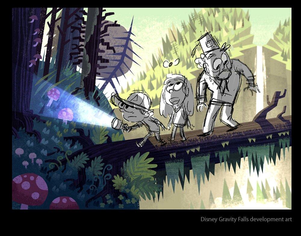 Gravity Falls Trust No One Wallpaper Souvenirs De Gravity Falls The Art Of Disney