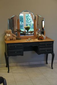coiffeuse style louis xv patine  lancienne  Relooking meubles  intrieur