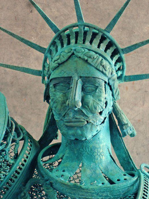 Nouvelle Sculpture Liberty Statue De La Libert En