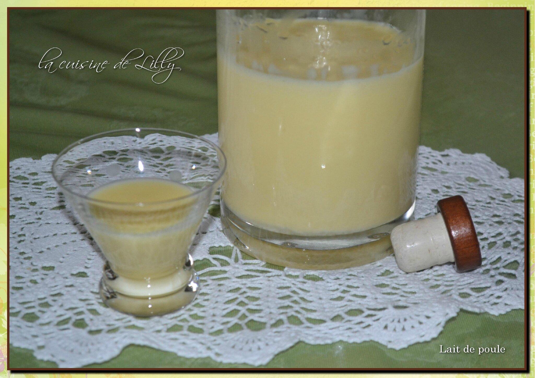 lait de poule la cuisine de lilly
