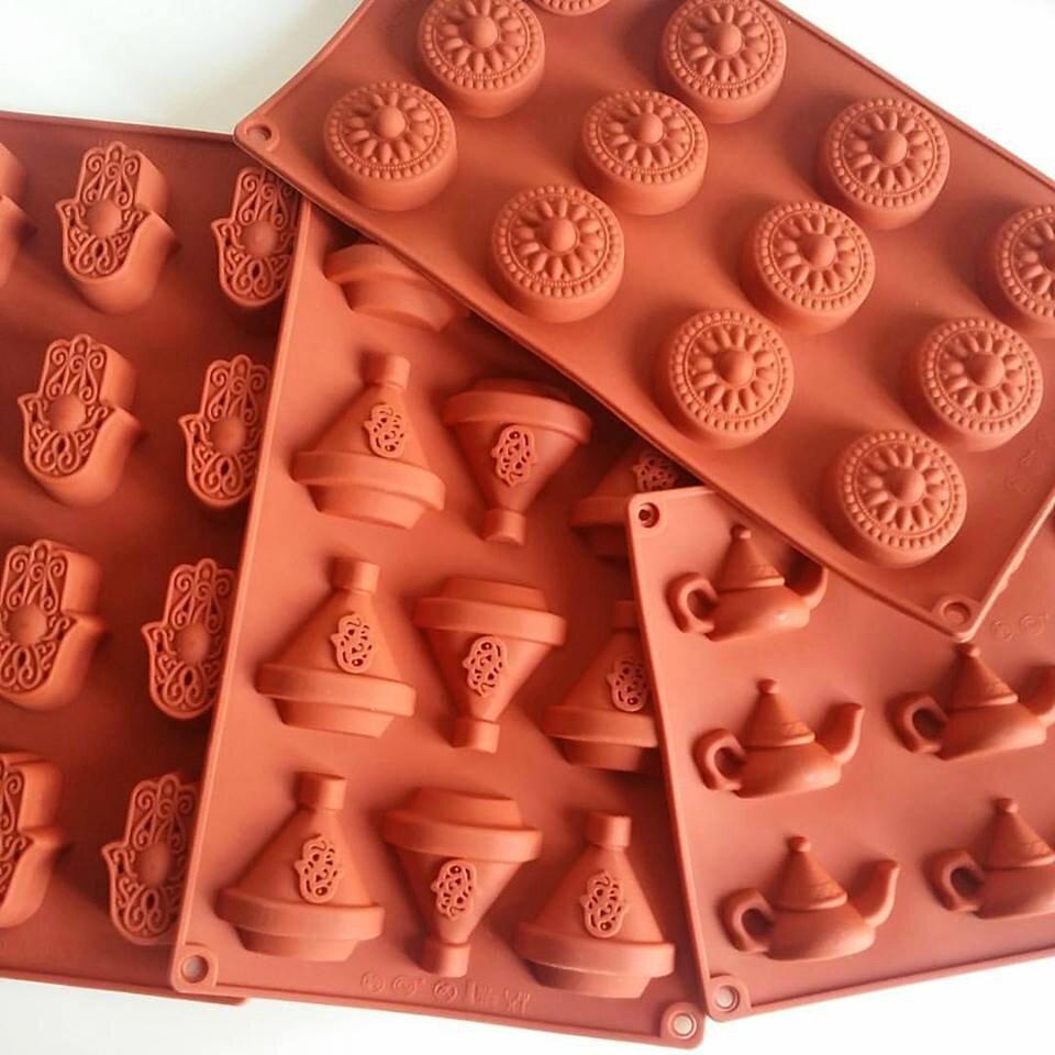 forme de tajine au chocolat blanc