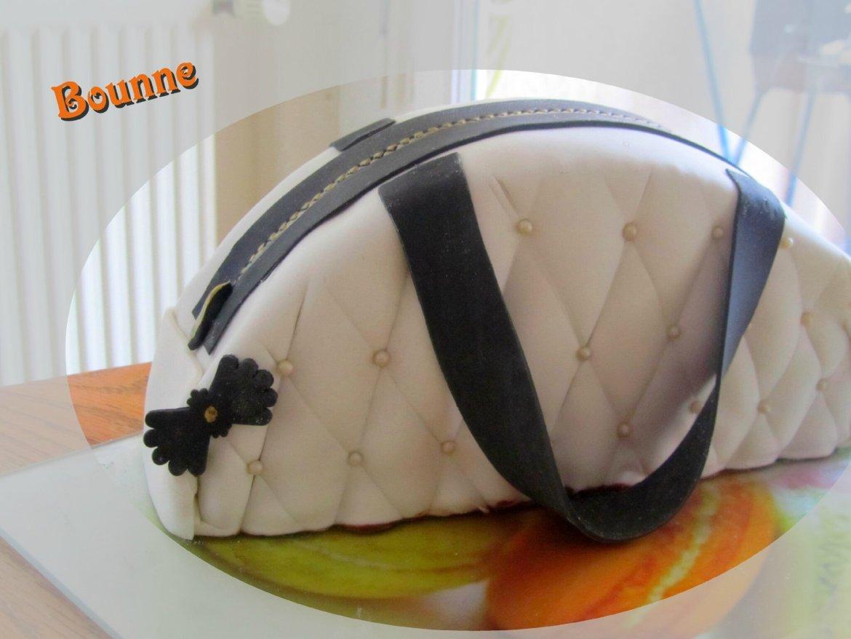 gâteau d'anniversaire original sac à main fille