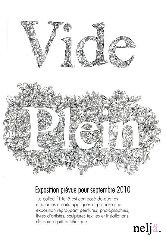 Le Vide Et Le Plein : plein, Plein, Vide,, Plein., Neljä.
