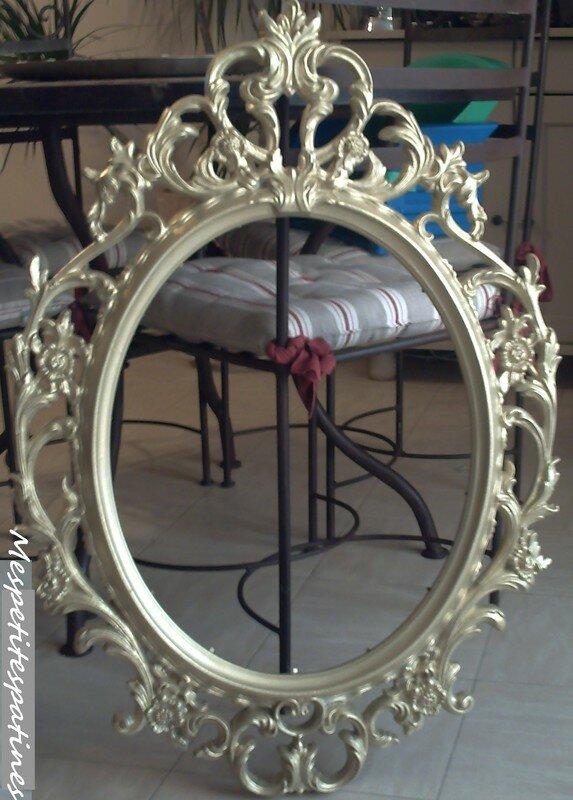 Un Miroir Baroque Mes Petites Patines