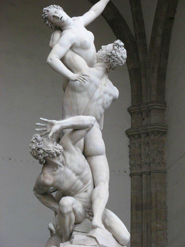 sculpture l'enlevement des sabines