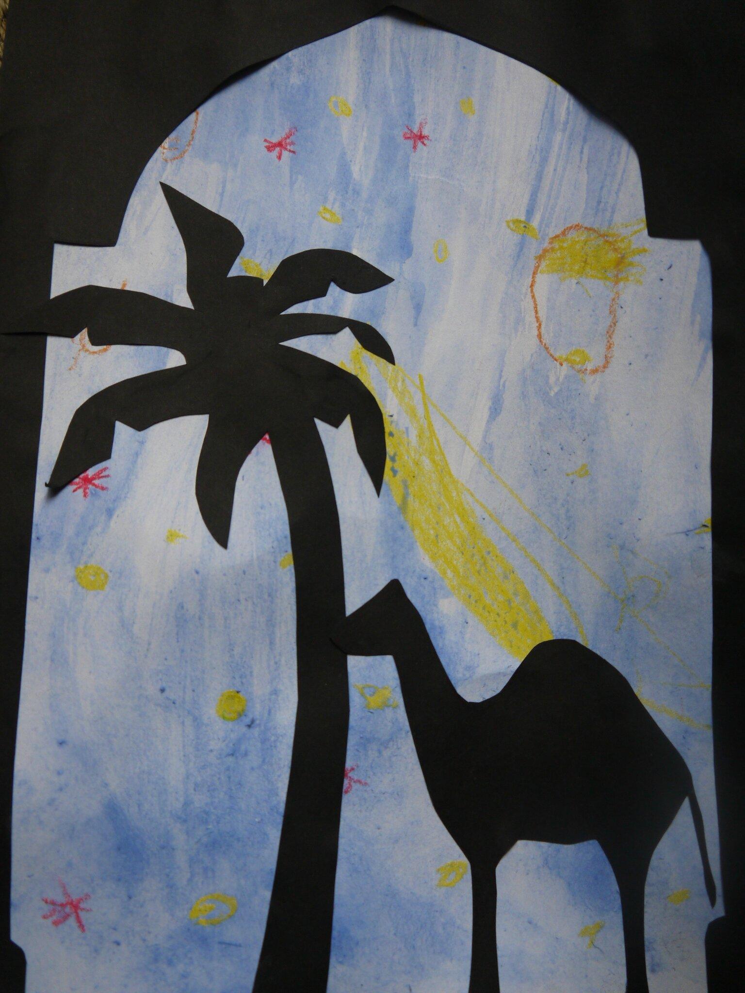 Collage au Maroc  Libres enfants des garrigues