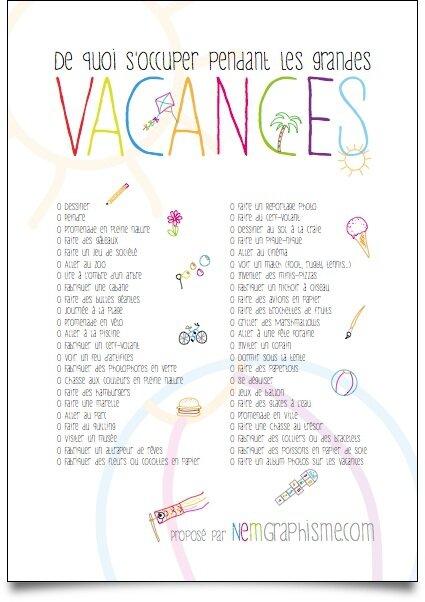 Que Faire Pendant Les Vacances D été : faire, pendant, vacances, été, VACANCES, AMUSANTES, Ensemble, Naturellement
