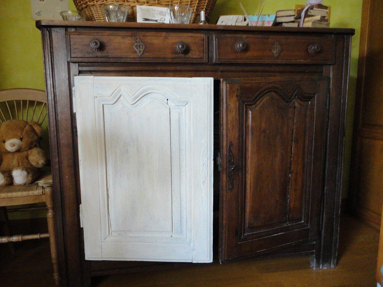 peinture meuble de cuisine