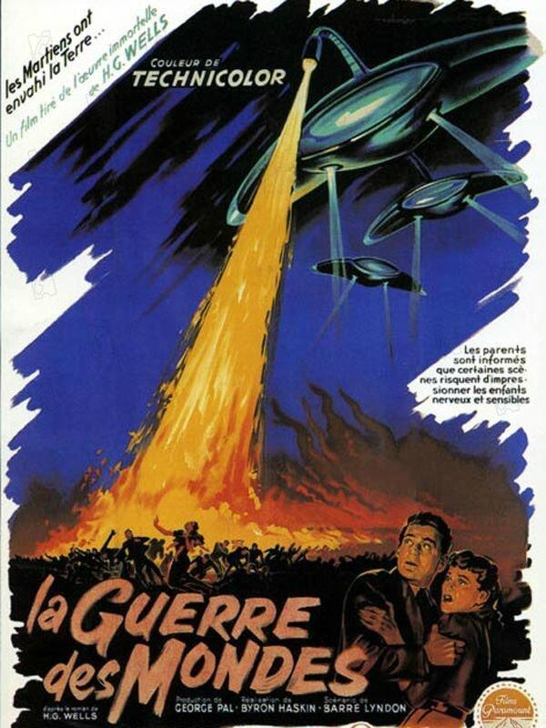 LA GUERRE DES MONDES (1953) - Film en Français