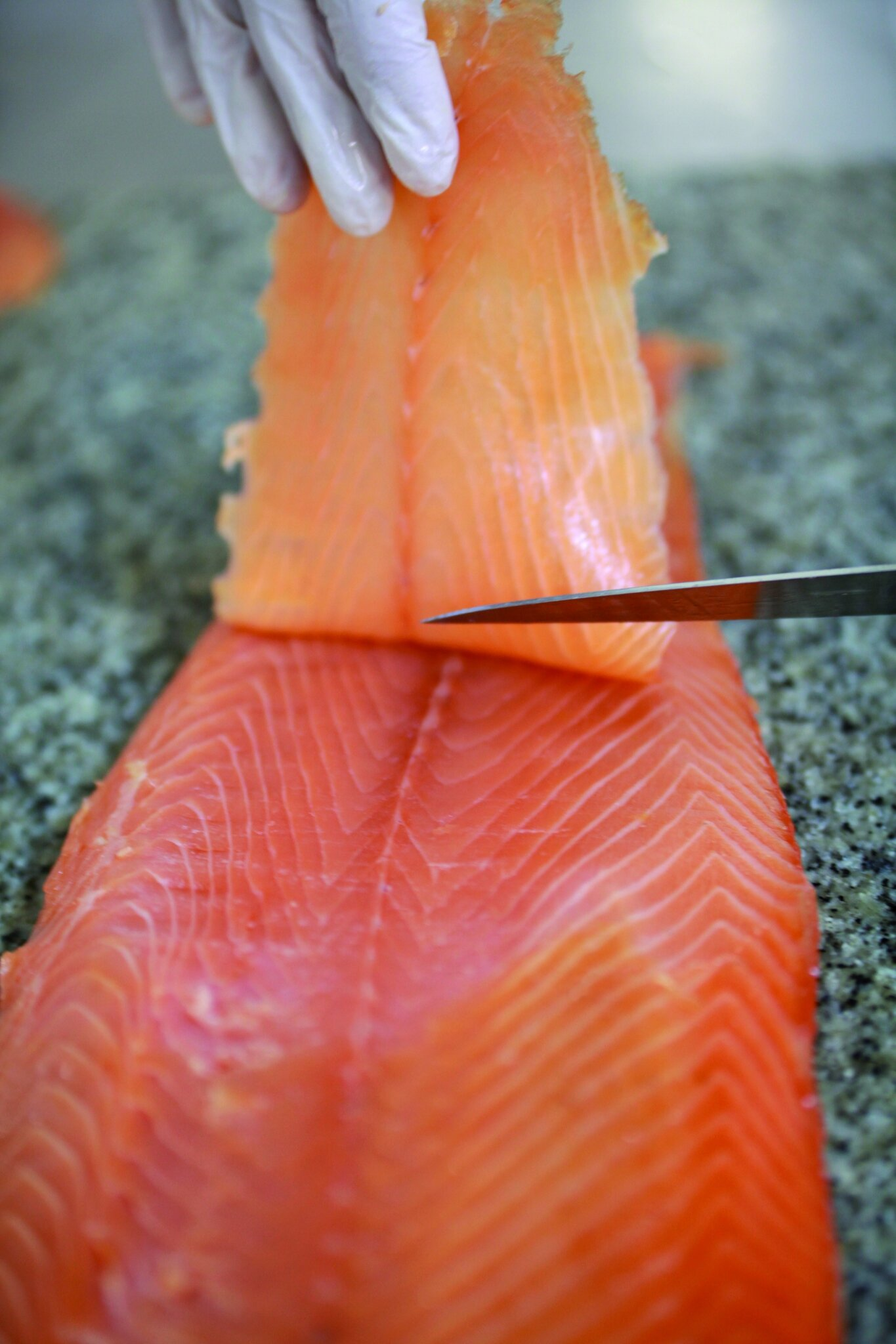 Fum le saumon donne le ton  Magcuisine