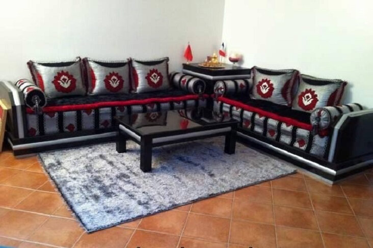 Vente salon marocain 2019 simple  Decomaro