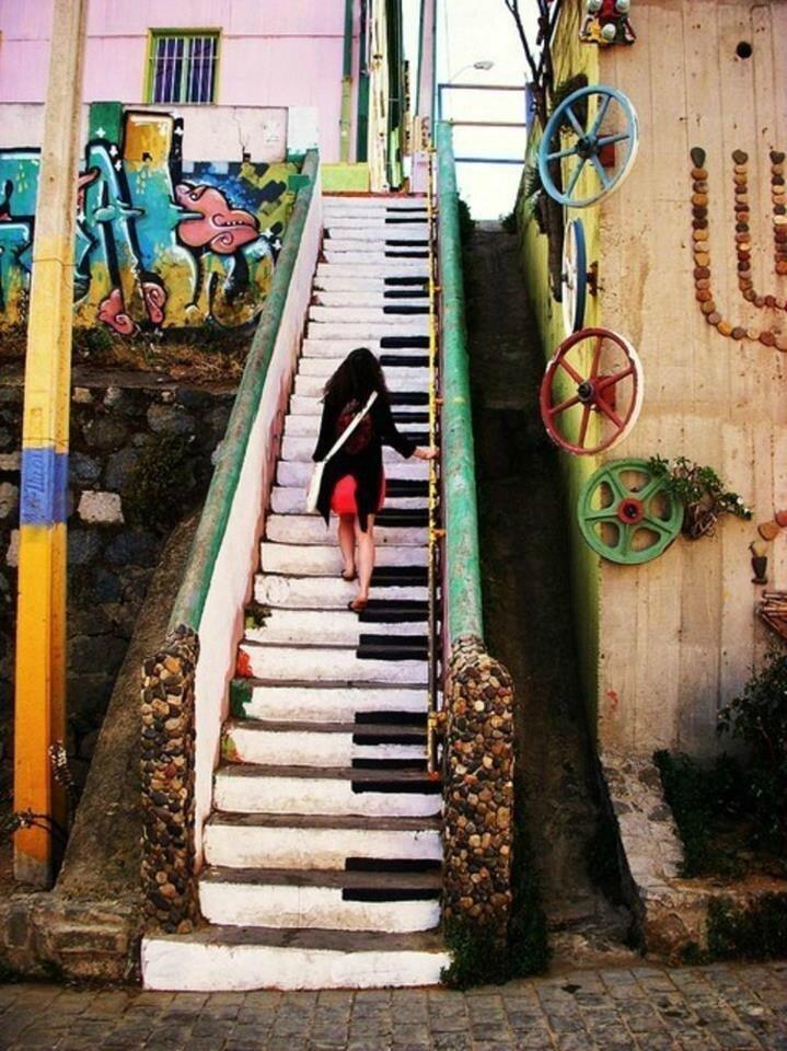 Street Art  music  Mosaques de lectures et dimages