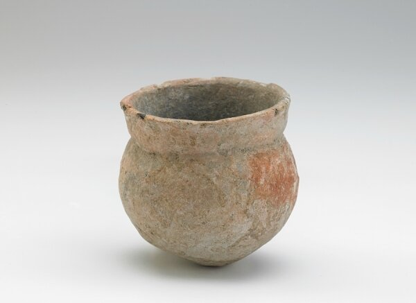 Vessel with round bottom, Oc Eo culture, Pre-Angkor period, 3rd-6th century, Southern Vietnam, Mekong River Delta