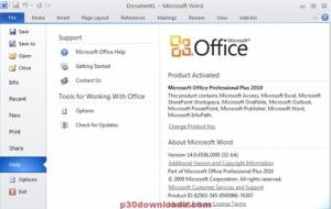 Microsoft Office 2010 Activator Full Version Free Download [100 % Working]