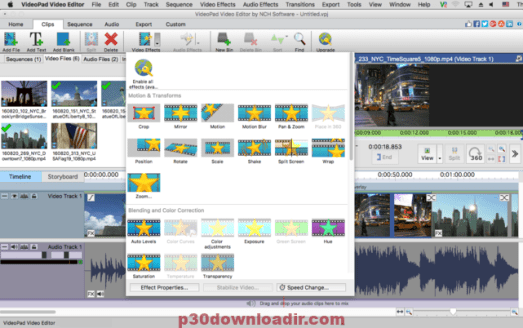 VideoPad Video Editor 7.32 Beta Crack With Serial Full Download