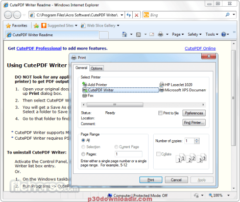 CutePDF Pro 2020 Crack and License Key Free Download