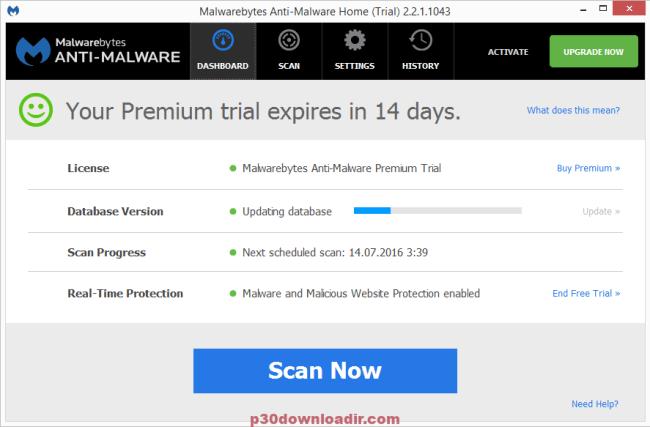 Malwarebytes Anti-Malware Database 2019 License With Crack Key