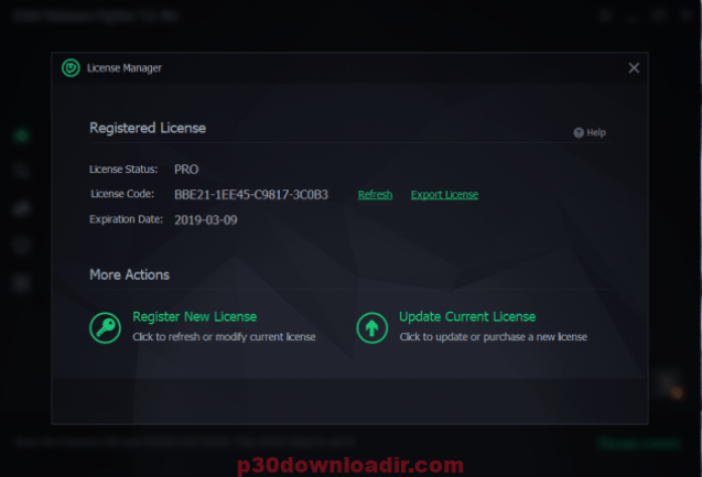 IObit Malware Fighter 7.2.0.5746 RC  License Key