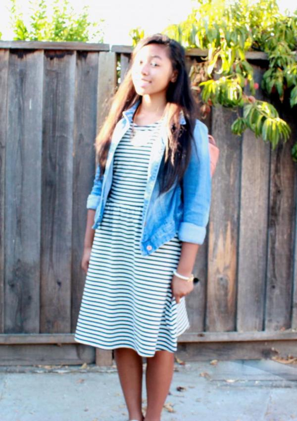 what i wore: first day of sophomore year
