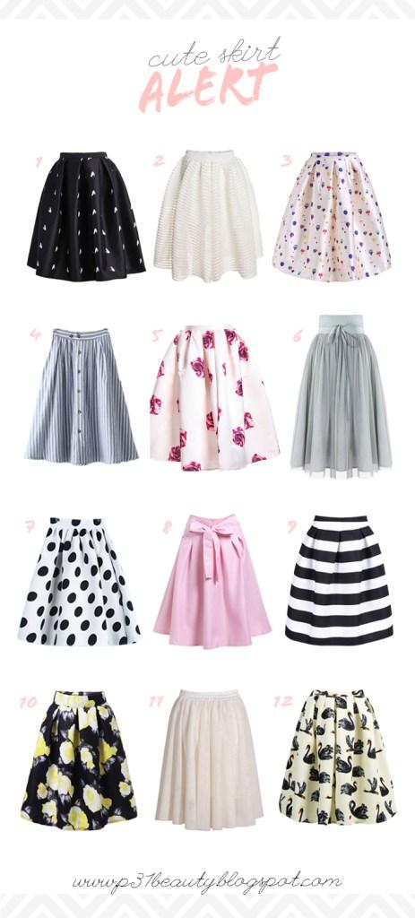 SKIRTS 463x1024 - 12 Midi Skirts Under $25