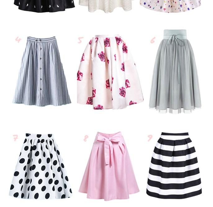 SKIRTS - 12 Midi Skirts Under $25
