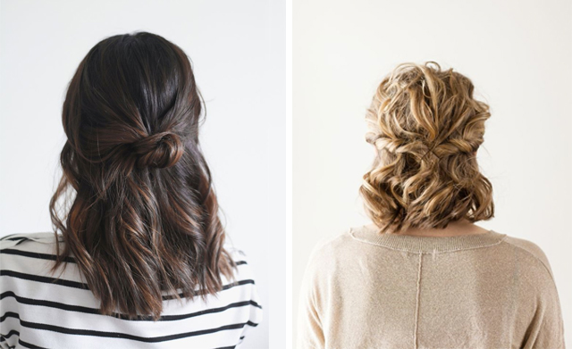 hair1 - 22 Quick & Easy Hairstyles for School