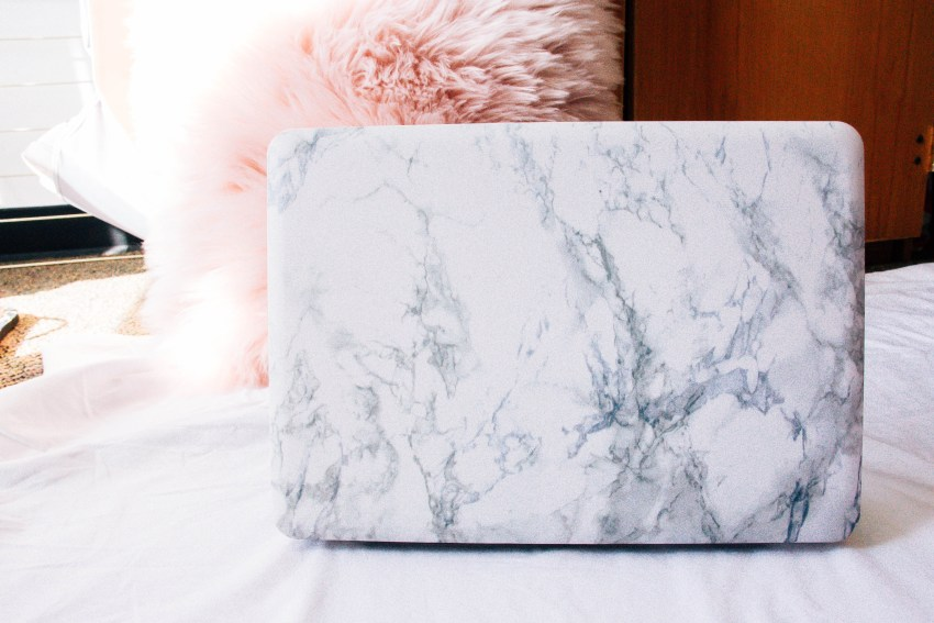 Marble MacBook Pro Case | What's in My Pink Bag | What I Can't Leave Without