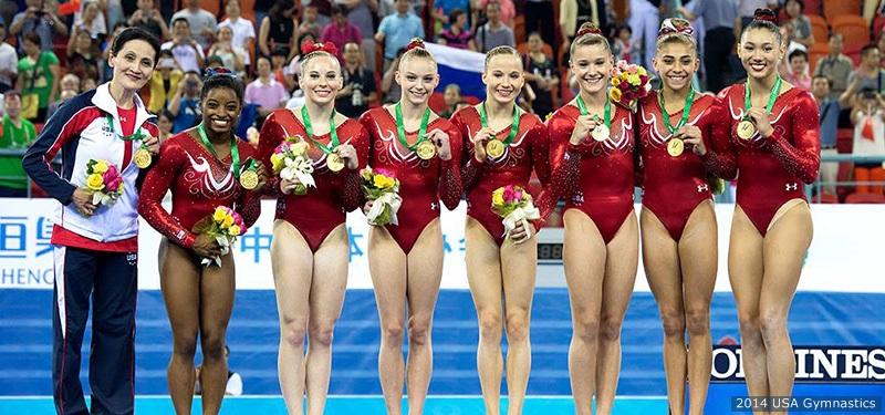 American gymnasts