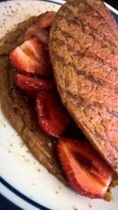beet pancake