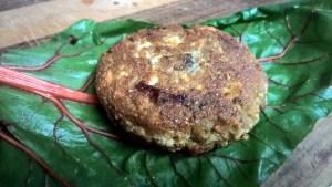 Simple Tofu Mushroom Burgers