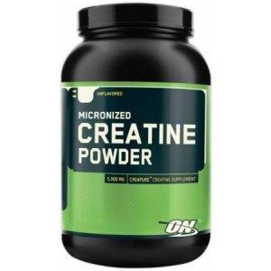 Optimum Nutrition creatine powder.