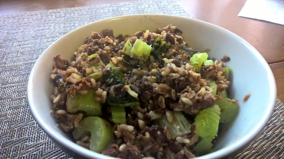 Pav Bhaji Rice and Beans