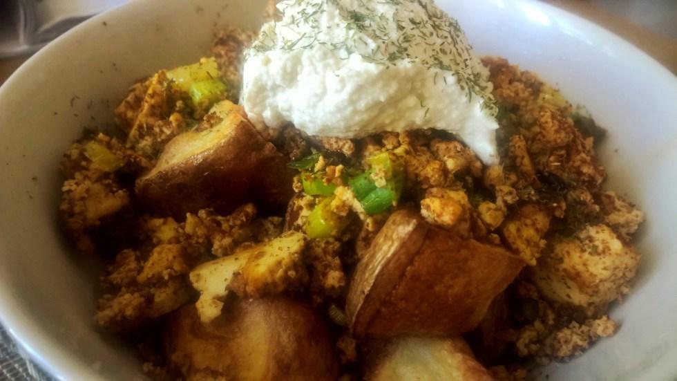 Homemade Vegan Chorizo Brunch Bowl
