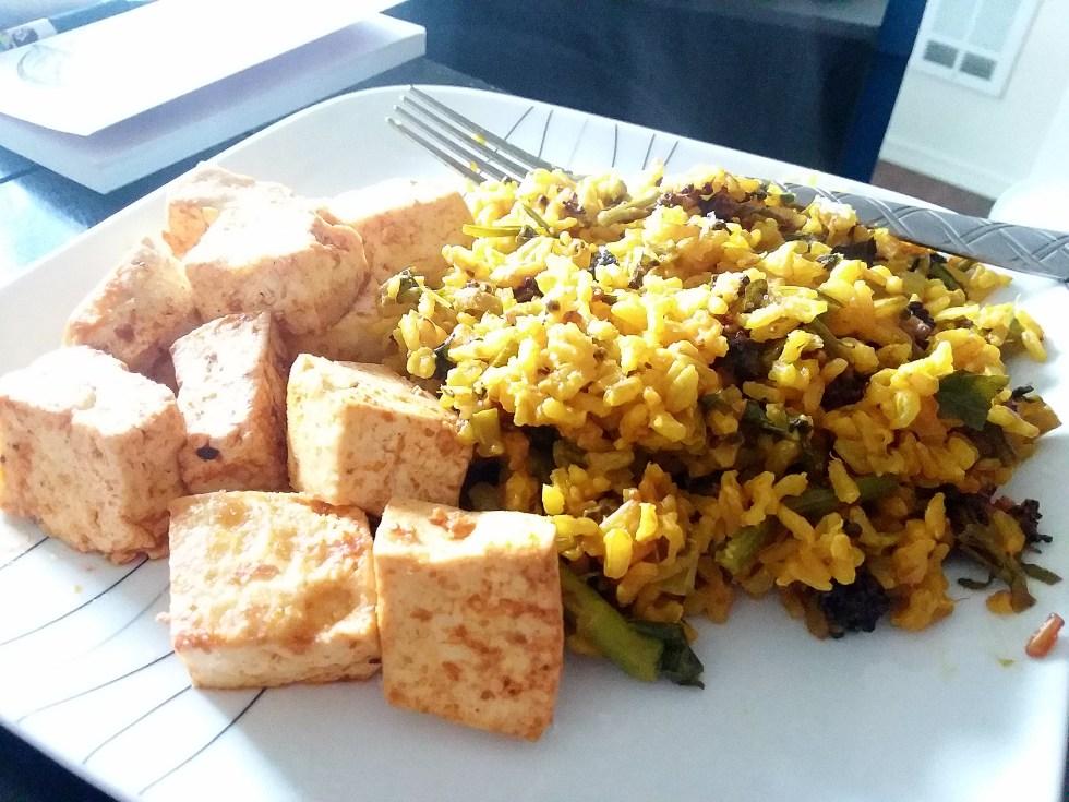 Lemon Curry Rice