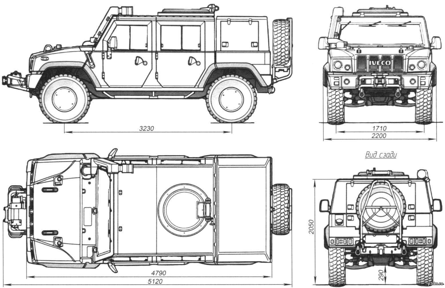 Iveco Lmv Pack 3d Models