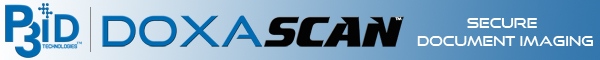 P3iD DoxaScan - Secure Document Imaging and Robotic Process Automation