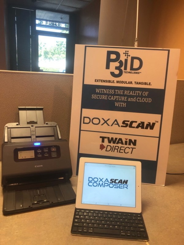 Canon document scanner with DoxaScan Composer integration