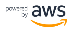 Powered by <abbr class='c2c-text-hover' title='Amazon Web Services'>AWS</abbr> logo