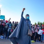 Top Powerful Pictures From The #EndSARS Protests (Photos)