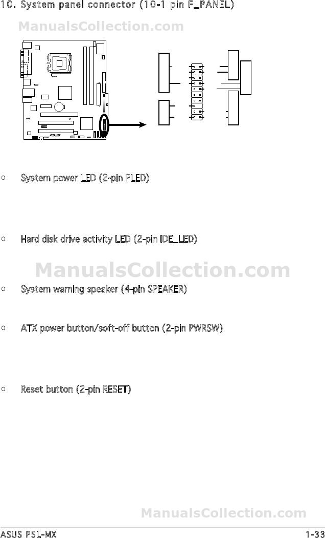 ASUS P5L-MX MANUAL PDF