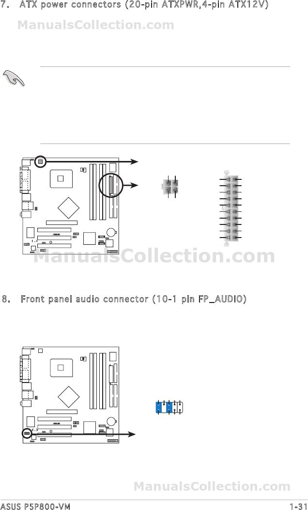 ASUS P5P800 MANUAL PDF