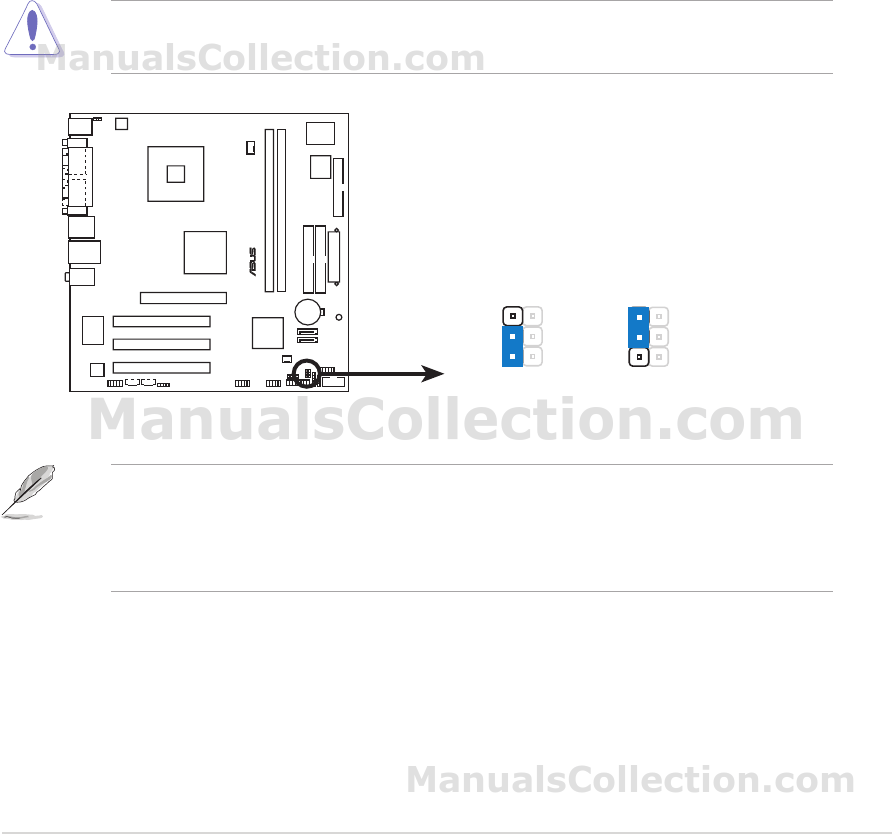 MANUAL ASUS P5S800-VM PDF