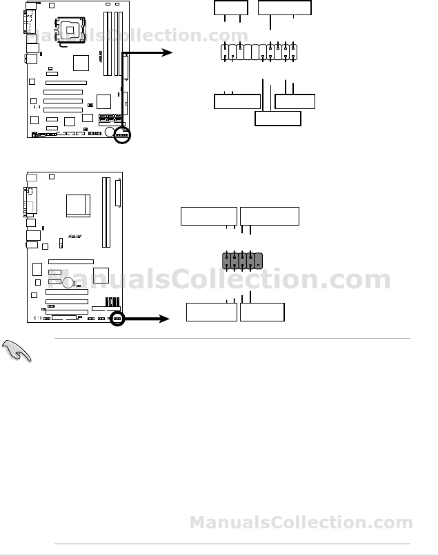 ASUS P5B-VM SE Motherboard Installation Guide (German